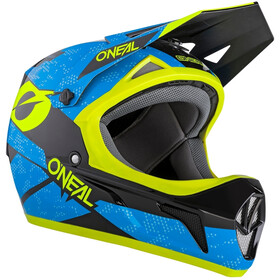 O'Neal Sonus Helm blue/neon yellow